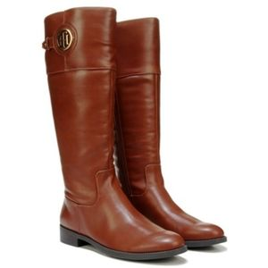 Tommy Hilfiger Inezza Tall Riding Boots Brown Sz11